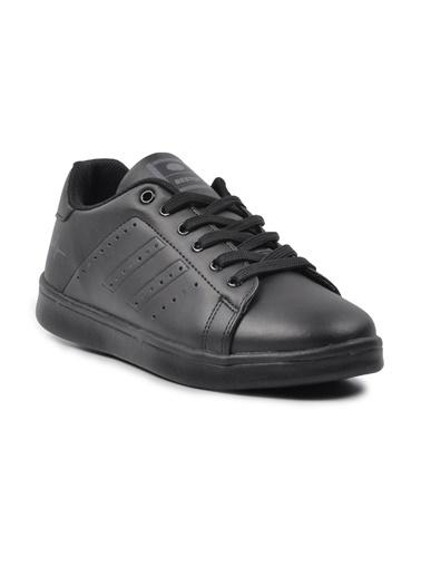 Bestof 041 Siyah-Siyah Spor Ayakkabı Siyah